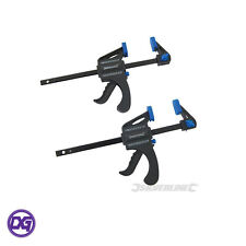 Mini Clamps 2 pack 100mm Speed Vice Grip Woodwork Carpentry Tools