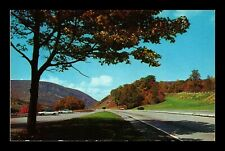 DR JIM STAMPS US HIGHWAY DELAWARE WATER GAP PENNSYLVANIA MOUNTAINS POSTCARD