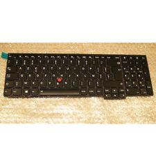 Thinkpad Lenovo Tastatur 04Y2393 04Y2471 Belgian AZERTY backlight Keyboard T560