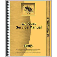 Service Manual Fits Case 570 Tractor (Gas and Diesel) (Construction King)