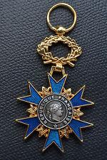 DR7 MEDAILLE chevalier de l'ordre national du mérite n°2 FRENCH MEDAL