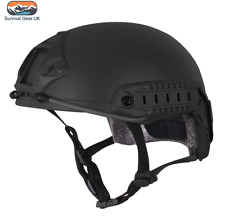 VIPER TACTICAL FAST HELMET AIRSOFT SPECIAL OPS ARMY MILITARY PAINTBALL BLACK