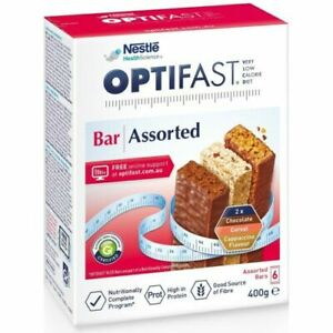 Optifast VLCD 6 x 65g (390g) Bars  Meal Replacement Diet