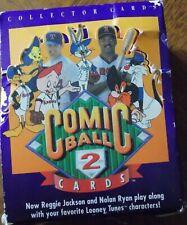 Looney Tunes All Star Comic Major League Baseball Series 2 FACTORY SEALED BOX