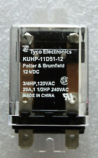 NEW TYCO POTTER & BRUMFIELD KUHP-11D51-12 12VDC 20A DPDT POWER RELAY