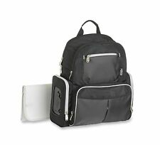 Graco Gotham Smart Organizer System Back Pack Diaper Bag Black/Grey - New