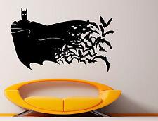 Batman Wall Vinyl Decals Dark Knight Sticker Comics Art Removable Decor (13jbat)