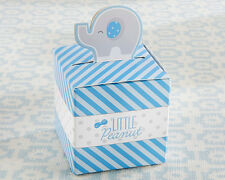 24 Little Peanut Blue Elephant Baby Shower Birthday Party Favor Boxes