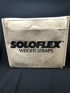 Authentic OEM SoloFlex Weight Bands- Set of  12 Straps (400 lbs.) w/Original Box