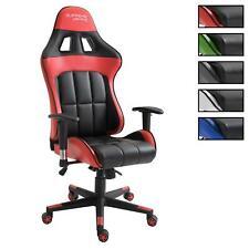Chaise de bureau gaming CREW fauteuil gamer style racing racer siège baquet