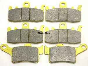 MC Front Rear Brake Pads For Can-Am CanAm Spyder RS SE5 2013-2015/ SM5 2013-2016