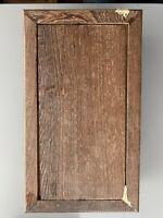 Vintage Wood Stand Rectangular Pedestal Display Wabi Sabi