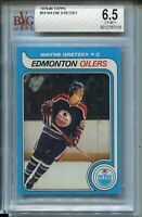 1979 '79 Topps Hockey #18 Wayne Gretzky Rookie Card Graded BVG Ex Mint+ 6.5