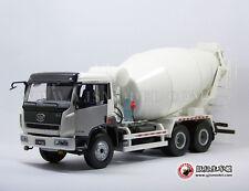 1:24 cement mixer truck model white