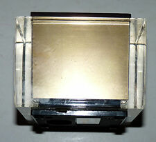 VTG 1950-1960's ELECTRO ELECTRIC TABLE TOP LIGHTER LUCITE RETRO  a8