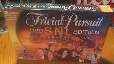 "TRIVIAL PURSUIT  DVD ""SNL"" EDITION   SATURDAY NIGHT LIVE"