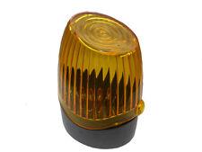 LED Lampada semaforo rosso 24 V//230 V luce intermittente CANCELLO ATTACCO Canaletto attacco