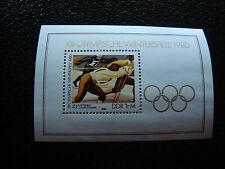 ALLEMAGNE (rda) - timbre - yvert et tellier bloc n° 55 n** (Z3) stamp germany
