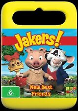 Jakers - New Best Friends (DVD, 2011) Region 4 Used in VGC with Free Postage!
