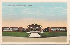Junior High School Chickasha Oklahoma OK Postcard