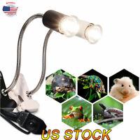 Reptile Ceramic Heat UVB/UVA Bulb Lamp Holder Aquarium Lighting  For Turtle New