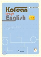 Korean Through English 1 w/ MP3 CD Free Ship 9781565913158