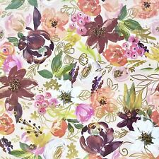 Floral All-Occasion Gift Wrapping Paper, Twig & Twine (8 Rolls 5ft x 30in)