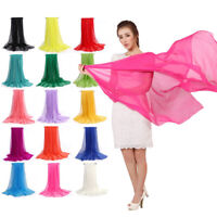 FP- Women Soft Long Neck Large Scarf Wrap Shawl Pashmina Stole Scarve Chiffon Mu