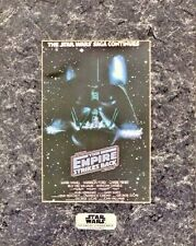 Star Wars Empire Strikes Back Chromart Poster Zanart art Print COA Vintage LE