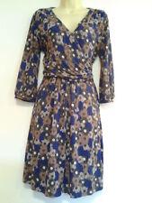 BNWT, Great Plains (French Connection) UK L,  Pom Pom flower print jersey dress