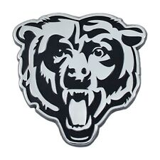 Fanmats Nfl Chicago Bears Diecast 3D Chrome Emblem Car Truck Rv 2-4 Day Delivery