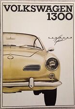 VW 1300 Karman Ghia Post Card 1st On eBay Car Poster. Own It!