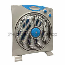 RAM 12 Inch 300mm 3 Speed Oscillating Eco Box Fan