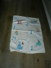 """Nusery Rhymes Hand Made Quilt 54"""" X 30"""""""