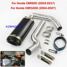 For 03-17 Honda CBR600 04-07 Honda CBR1000 Motorcycle Exhaust Connect &Tail Pipe