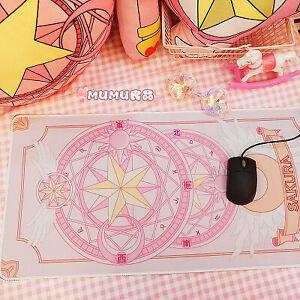 Anime Card Captor Sakura Mouse Pads Sailor Moon Pink Large Gaming Mouse Pad