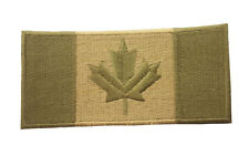 CANADA SQUARE LARGE MILITARY FLAG EMBROIDERED IRON-ON PATCH CREST BADGE .. NEW