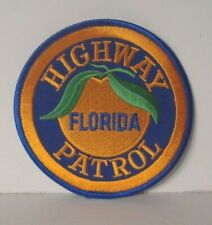 FLORIDA HIGHWAY PATROL POLICE OFFICER  patch