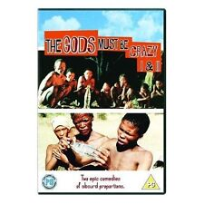 The Gods Must Be Crazy 1 & 2 DVD Postage Within Australia Region All