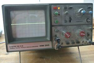 Hameg HM 203-3  Oszilloskop 20 MHz 2 Kanäle