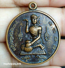 Nang Kwak Women Seller Thai Amulet Talisman Pendant Charm money Good Business