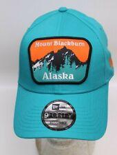 New Era 9Forty Snapback Cap Adjustable Alaska Mount Blackburn türkis Kappe NEU