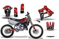 Dirt Bike Graphics Kit Decal Sticker Wrap For Yamaha YZ125 YZ250 91-92 REAPER R