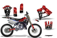 Yamaha YZ250 Graphic Kit Wrap Dirt Bike Decals MX Stickers 1991-1992 REAPER RED