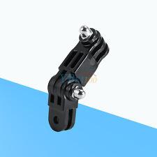 Long & Short Straight Joint Set For GoPro HD Hero Camera Mount Black