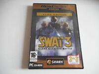 PC CD-ROM - SWAT 3. CLOSE QUARTERS BATTLE