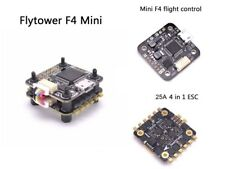 F10A Mini F4 Flytower Flight control Integrated OSD 25A 4in1 ESC Built-in 5V1A
