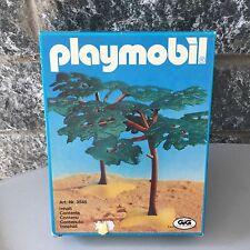 VINTAGE PLAYMOBIL# 3548 African Tree Trees Set NIB RARE GEOBRA