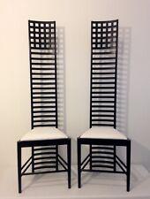 """coppia sedie """"Hill House"""", disegnata da C.R.Machintosh, No RRESERV Price!"""