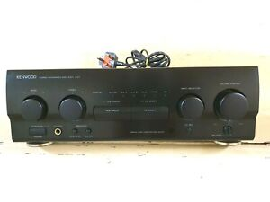 KENWOOD STEREO INTEGRATED Amplifier A-57 - FULL WORKING ORDER
